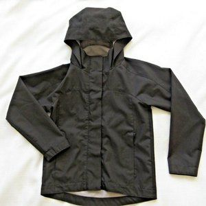 Joe Fresh jacket Girls 8 Medium Full Zip Black